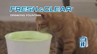 Питьевой фонтанчик для кошек Catit 3 литра, зеленый