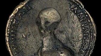 Die mysteriöse antike ägyptische Alien Münze