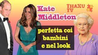 Kate Middleton è dolcissima coi bimbi ricoverati e impeccabile con l'abito a pois come Lady Diana