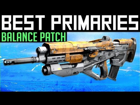 Destiny | Best Primary Gear in PvP After Patch: Update 2.5.0.2 Balance Changes! (Rise of Iron)