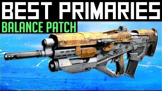 Destiny | Best Primary Weapons in PvP After Patch: Update 2.5.0.2 Balance Changes! (Rise of Iron)