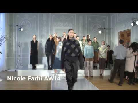 Nicole Farhi London Fashion Week show: Nicole Farhi AW14 Collection