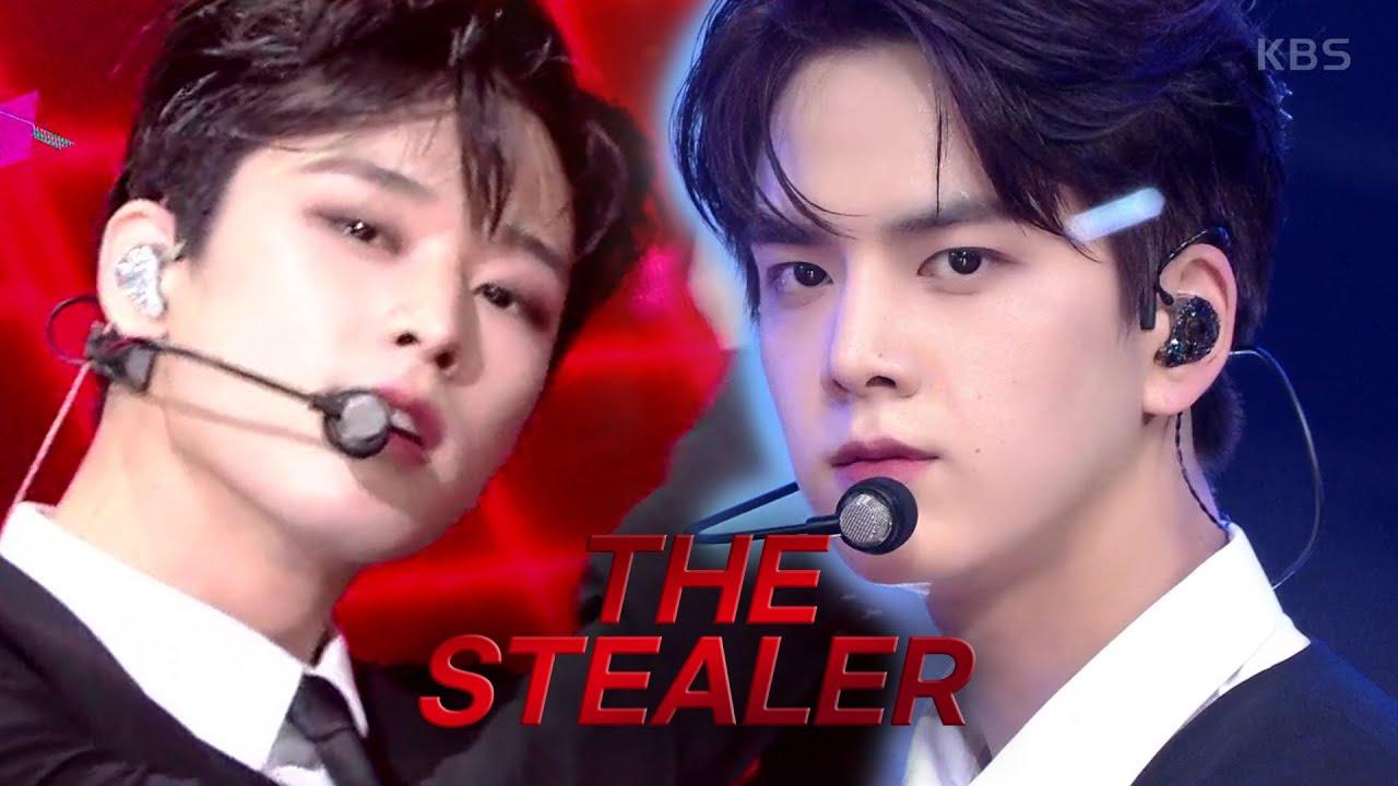 [더보이즈] 경찰서죠? find my 심장 pls 괴도 신고합니다.. 더 보이즈(THE BOYZ) 'The Stealer'뮤직뱅크 활동 모음zip.