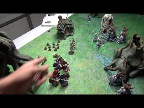 Age Of Sigmar Battle Report: Beastclaw Raiders Vs. Flesh Eater Courts 1,000 Points