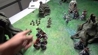 Video Age of Sigmar Battle Report: Beastclaw Raiders vs. Flesh Eater Courts 1,000 Points download MP3, 3GP, MP4, WEBM, AVI, FLV Januari 2018