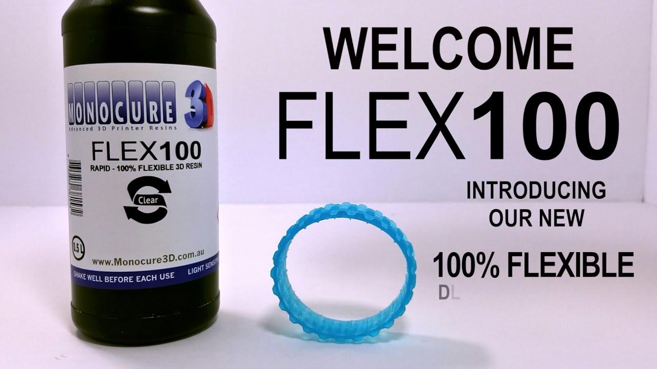 MonoCure 3D Rapid FLEX100