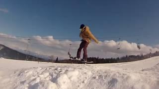 牛岳温泉スキー場  2017 パークセッション