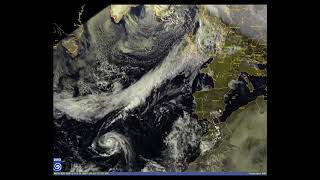 Satellitenfilm Hurrikan