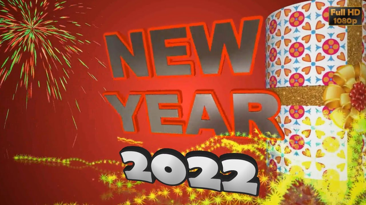 Happy New Year Greetings Best New Year Wishes 3d Animated Whatsapp