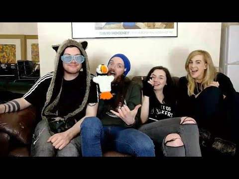 Irish People Live Stream for the First Time (W/ Diane, Jamie, Paul and Harker)