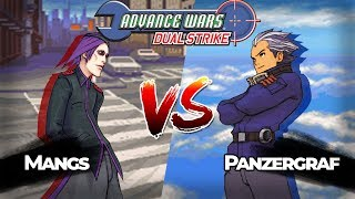 Advance Wars Dual Strike PvP: Adder vs Eagle