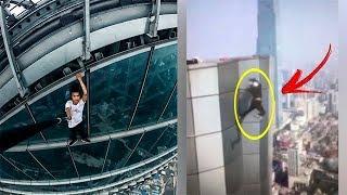 Chinês filma a própria morte caindo do edifício de 62 andares
