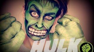 Incredible Hulk | Face Paint Tutorial