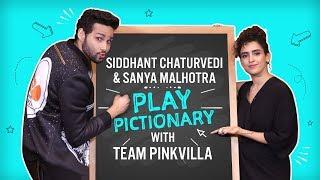 MEN IN BLACK: INTERNATIONAL - Siddhanth Chaturvedi & Sanya Malhotra play Pictionary | MC Sher