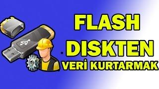 Flash Bellek'lerden Veri Kurtarmak Silinen dosyaları kurtarmak