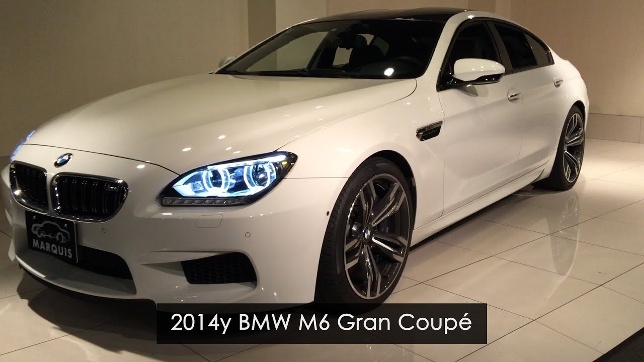 Bmw M6 Gran Coupe >> 2014y BMW M6 グランクーペ GRAN COUPÉ ホワイト【豪華オプション付き】 - YouTube