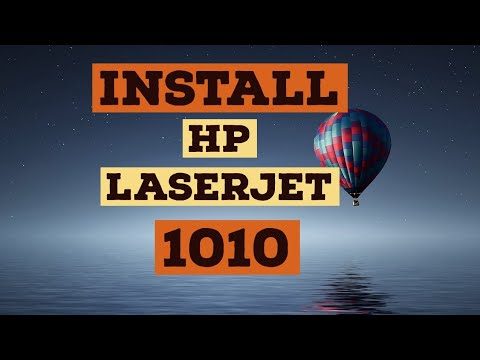 HOW TO ISTALL AND DOWNLOAD HP LASERJET 1010 PRINTER DRIVER ON WINDOWS 7, 8, 10, 8.1 | 100% Working