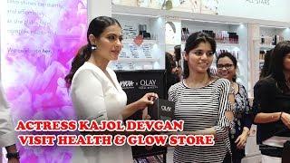 Actress Kajol Devgan Visit Health & Glow Store In Mumbai   TVNXT Bollywood