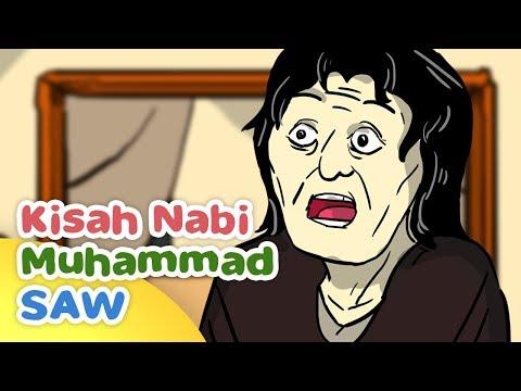 Kisah Nabi Muhammad SAW dizalimi Nenek Yahudi - Kartun Anak Muslim Indonesia