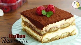 তরমস - ইতলয়ন ডজরট  Tiramisu Recipe  How to Make Tiramisu  Italian Dessert Recipe