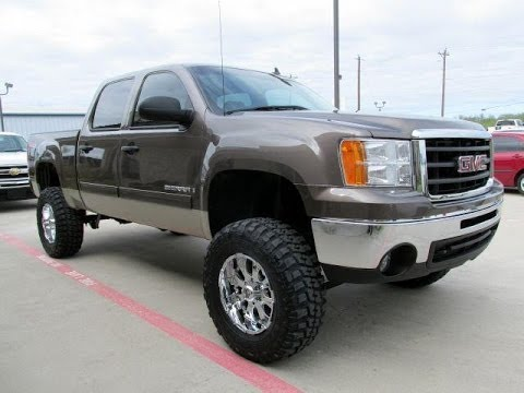 2008 Gmc Sierra For Sale >> 2008 Gmc Sierra 1500 Slt Crew Cab Lifted Truck 4 Sale Youtube