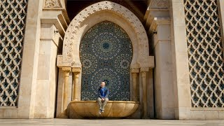 This Mosque in Casablanca is HUGE! Morocco Episode 01