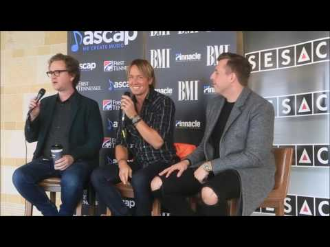 James Abrahart, Keith Urban and Greg Wells  No 1 Party For Wasted Time