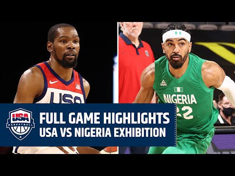 USA vs. NIGERIA EXHIBITION | FULL GAME HIGHLIGHTS | JULY 10, 2021