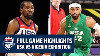 USA vs. NIGERIA EXHIBITION | FULL GAME HIGHLIGHTS