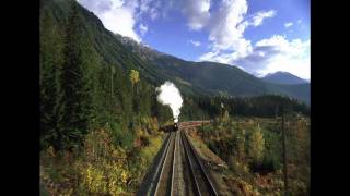 CP2816 Steam Locomotive in Rocky Mountain Express SFX Only