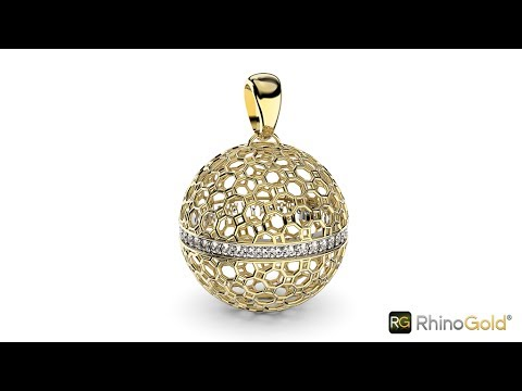 The ideal tool to decorate your design - RhinoGold 6.5