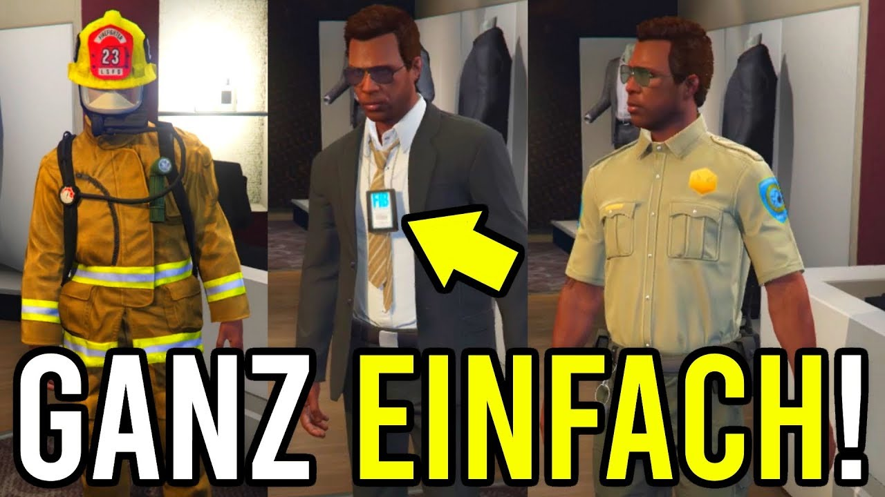 spezial fib-outfit bekommen! // alle outfits guide - gta online: casino  heist dlc