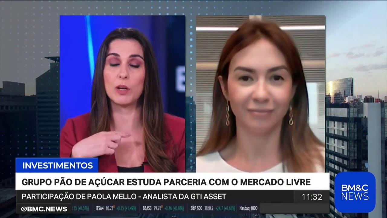 Paola Mello avalia balanço do Grupo Pão de Açúcar na BM&C News