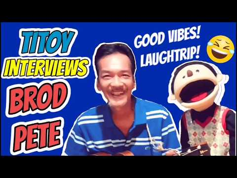 Titoy with Brod Pete! Laughtrip at Goodvibes! Paano Gumawa ng Comedy? | Ruther and Titoy