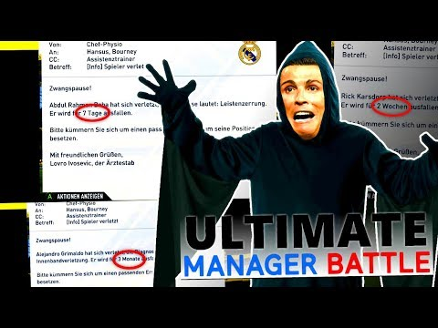 FIFA 17 : EIN FLUCH IN FIFA !!? 👻☠️ Alle LVs verletzt... 😡 Ultimate Manager Battle #6
