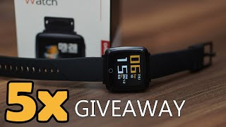 Lenovo Carme SmartWatch Unboxing and 5x Giveaway!