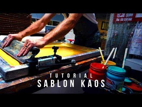 Cara Nyablon Kaos LENGKAP - Tutorial Sablon Kaos untuk Pemula -  Mini Workshop