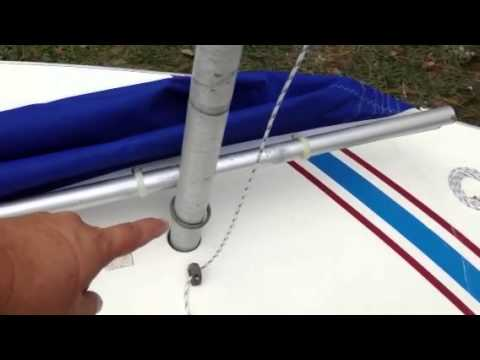 Sunfish Rigging Part 1 Of 2