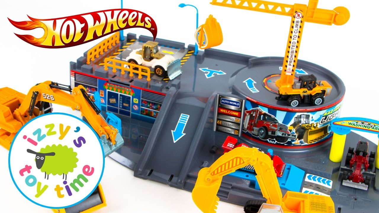 Cars for kids hot wheels toys and fast lane construction for Bureau cars toys r us
