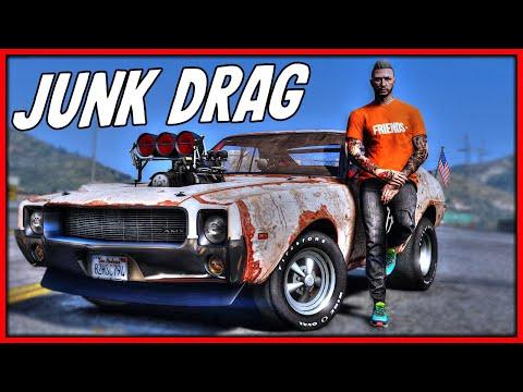 GTA 5 Roleplay - 1100HP Junkyard Drag 'DESTROY' Supercars | RedlineRP #914