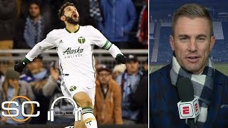 Taylor Twellman joins Scott Van Pelt to talk about Portland Timbers' win over Sporting Kansas City to clinch a return to the MLS Cup where they'll face Atlanta ...