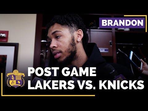 Brandon Ingram After Returning To Lakers Lineup