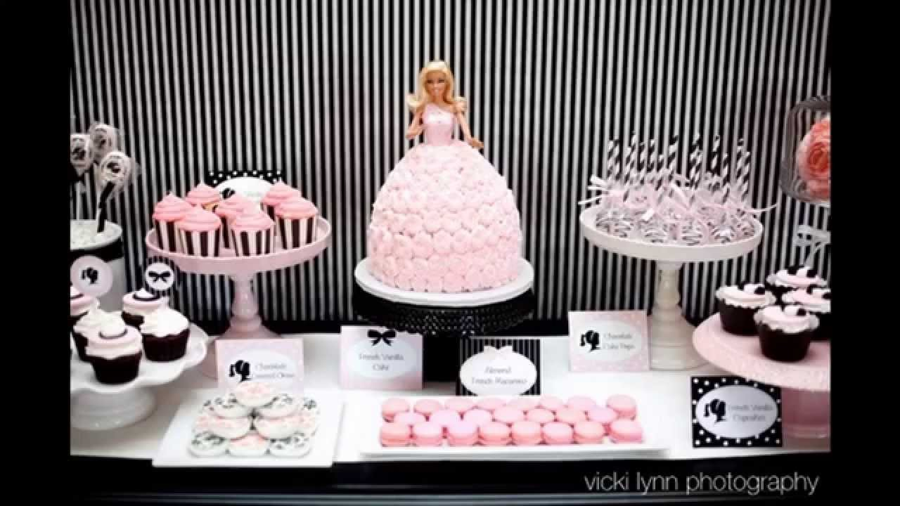 Paris themed bridal shower decorating ideas - YouTube