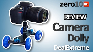 CAMERA DOLLY FROM DEALEXTREME DX.COM REVIEW [ZERO10]