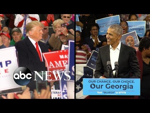 Trump and Obama make final push before midterm elections Mp3