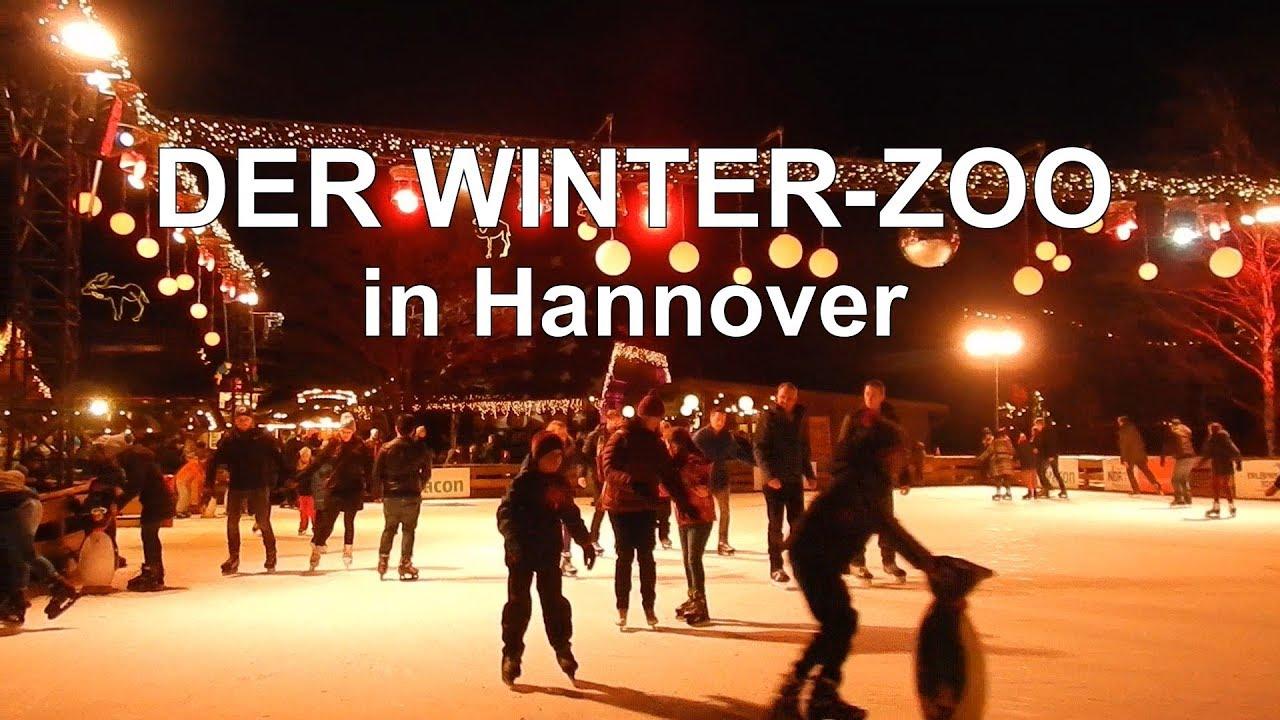 ein besuch im stimmungsvollen winter zoo in hannover youtube. Black Bedroom Furniture Sets. Home Design Ideas