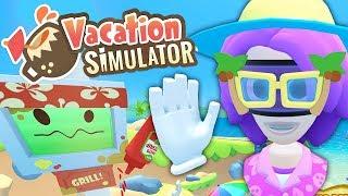Grillen, Wasserball & Yoga! | VR Urlaub Simulator