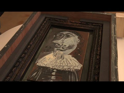 Picasso painting with 25,000 owners on show in Geneva