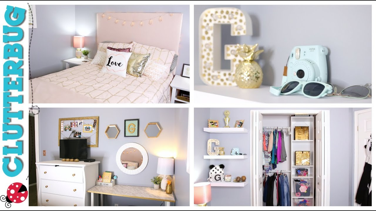How To Organize A Small Bedroom On A Budget Youtube