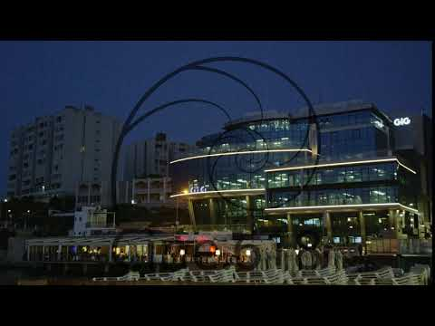 Seafront Corporate Building Night Paceville St.Julian's Malta Europe